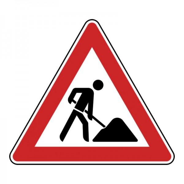 Verkehrszeichen - Arbeitsstelle Nr. 123