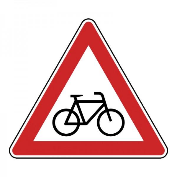 Verkehrszeichen - Radverkehr (Aufstellung links) Nr. 138-20