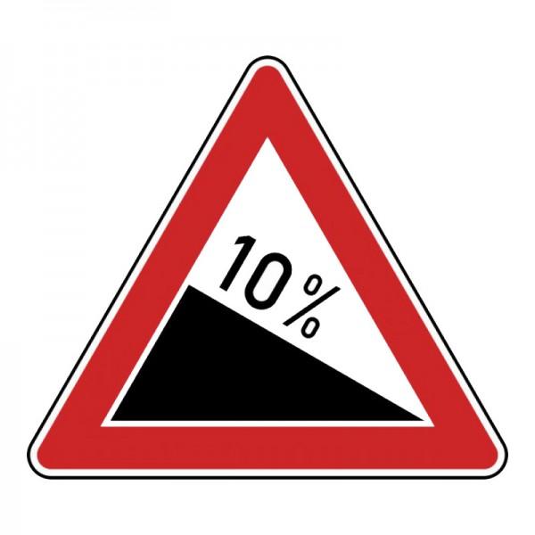 Verkehrszeichen - Gefälle Nr. 108
