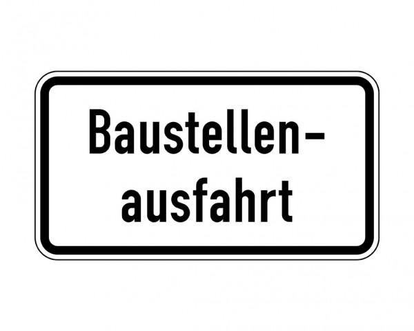 Verkehrszeichen - Baustellenausfahrt Nr. 1006-33