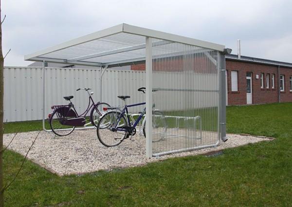 Fahrradüberdachung Haldis