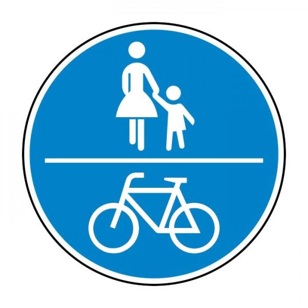 Verkehrszeichen - Gemeinsamer Fuß- und Radweg Nr. 240