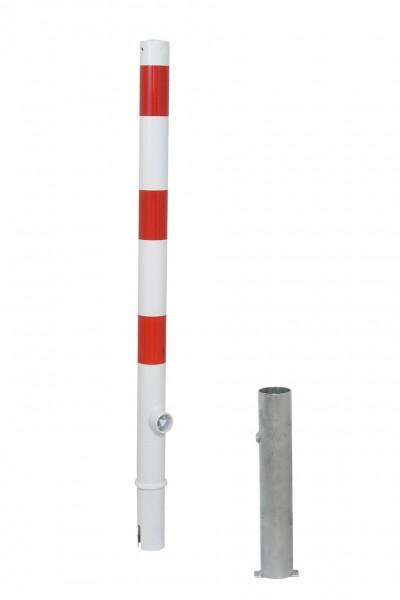 Absperrpfosten Ø 60 mm - herausnehmbar