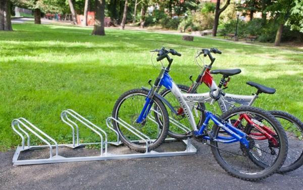 Fahrradständer Geo - 45° - verschweißt