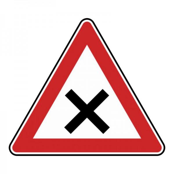 Verkehrszeichen - Kreuzung oder Einmündung Nr. 102