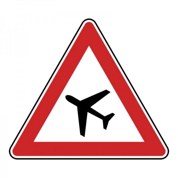 Verkehrszeichen - Flugbetrieb (Aufstellung rechts) Nr. 144-10