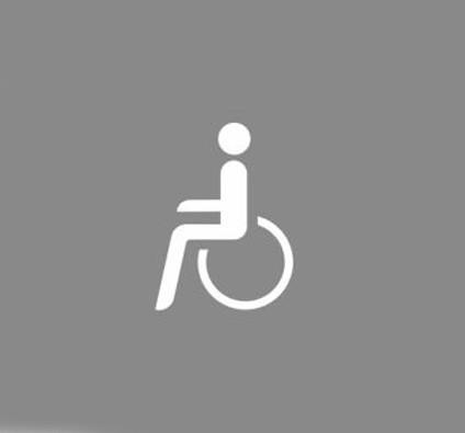 Premark Behinderte - Thermoplastik