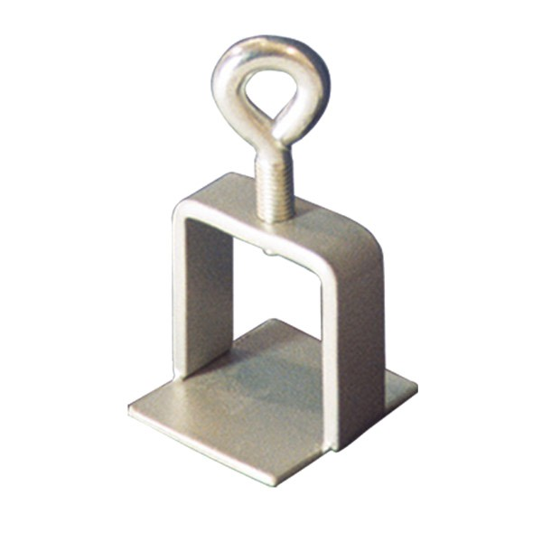 Schilderklemme aus Stahl