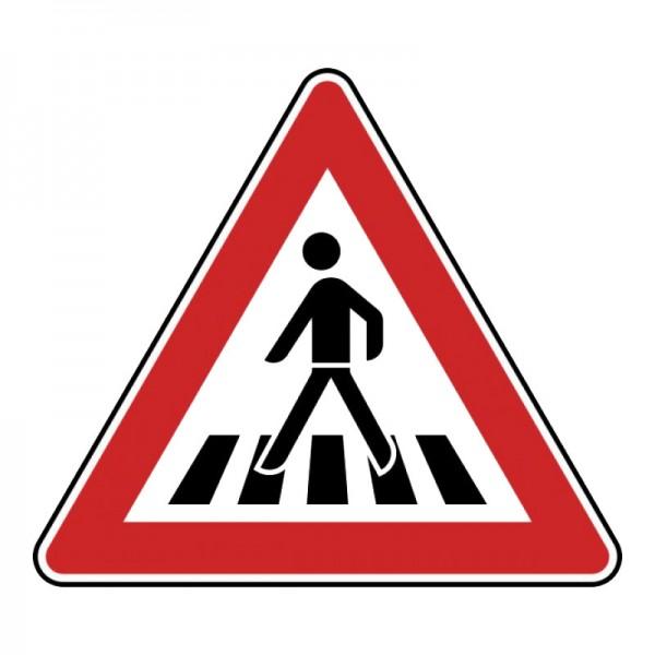 Verkehrszeichen - Fußgängerüberweg (rechts) Nr. 134-10