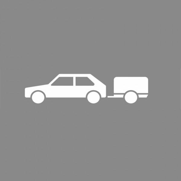 Premark Pkw mit Anhänger - Thermoplastik