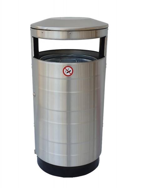 Abfallbehälter Como - Edelstahl