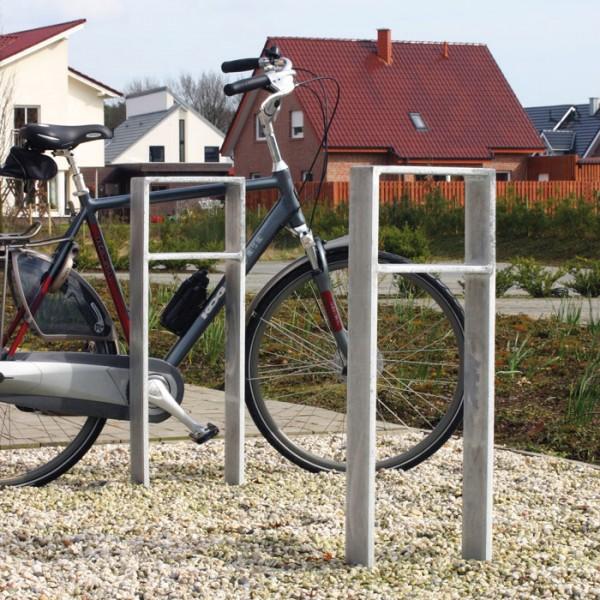Anlehnbügel Odin - Flachstahl 120 x 15 mm