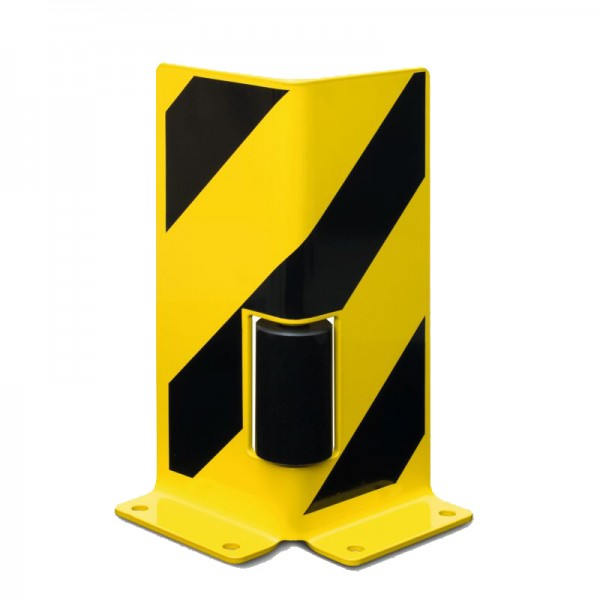 Anfahrschutz mit Leitrolle