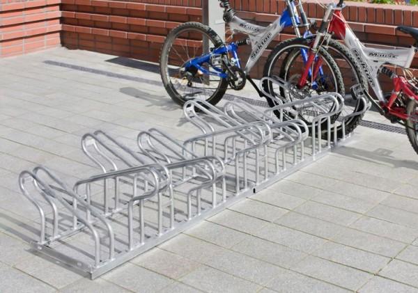 Fahrradständer Geo - zweiseitige Radeinstellung