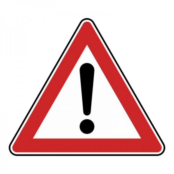 Verkehrszeichen - Gefahrstelle Nr. 101