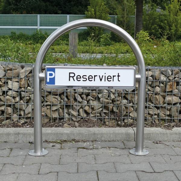 Parkplatzbeschilderung Premium - Edelstahl