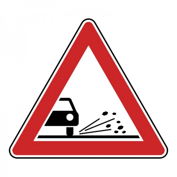 Verkehrszeichen - Splitt Nr. 116