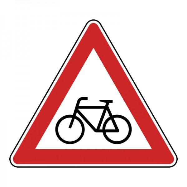 Verkehrszeichen - Radverkehr (Aufstellung rechts) Nr. 138-10