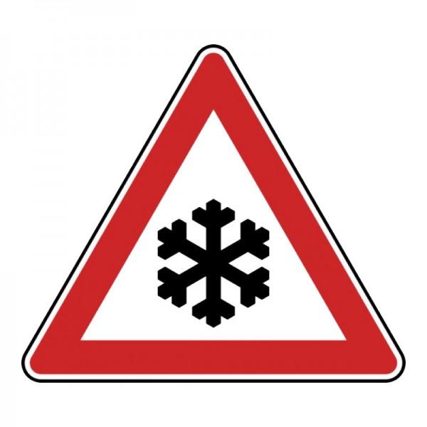 Verkehrszeichen - Schnee- oder Eisglätte Nr. 113