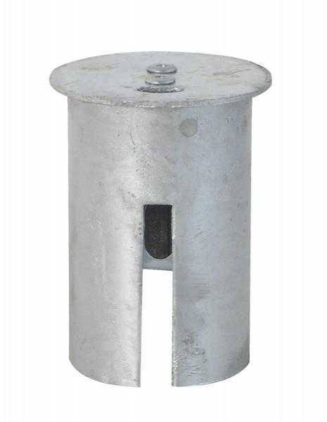 Abdeckkappe Ø 76 mm - abschließbar