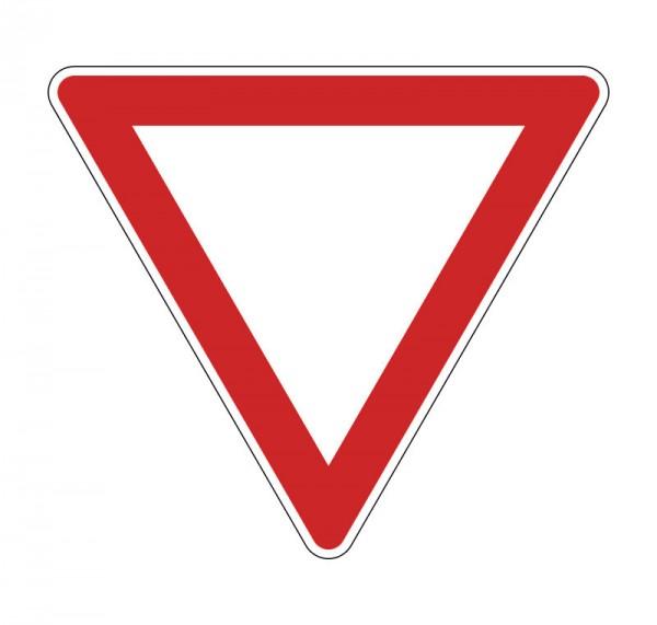 Verkehrszeichen - Vorfahrt gewähren! Nr. 327