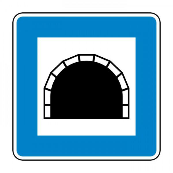 Verkehrszeichen - Tunnel Nr. 327