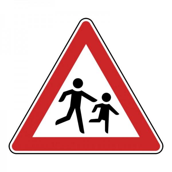 Verkehrszeichen - Kinder (Aufstellung links) Nr. 136-20