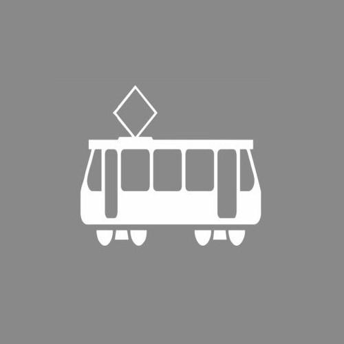 Premark Straßenbahn - Thermoplastik