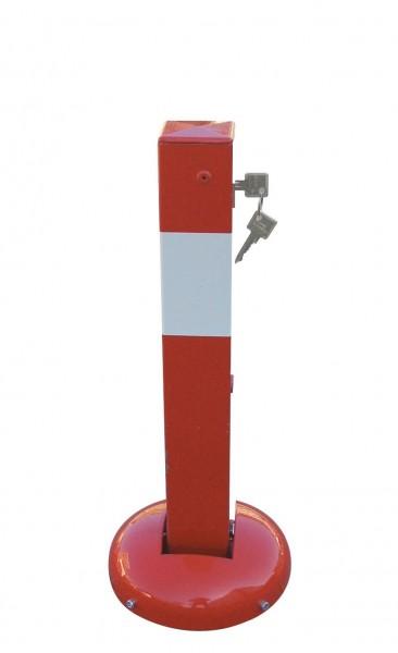 Absperrpfosten - umlegbar und elastisch