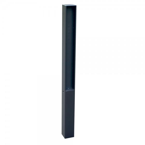 Stilpoller 70 x 70 mm mit Flachstahl