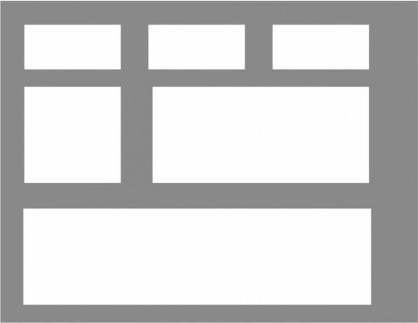 Premark Streifen 1000 mm Länge - Thermoplastik