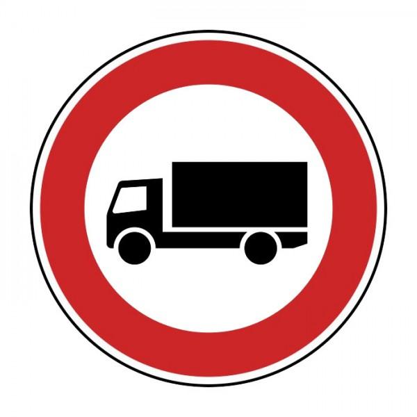 Verkehrszeichen - Verbot für Kraftfahrzeuge über 3,5 t Nr. 253