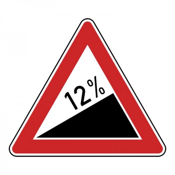 Verkehrszeichen - Steigung Nr. 110
