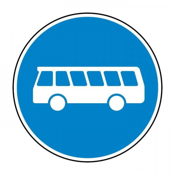 Verkehrszeichen - Linienomnibusse Nr. 245