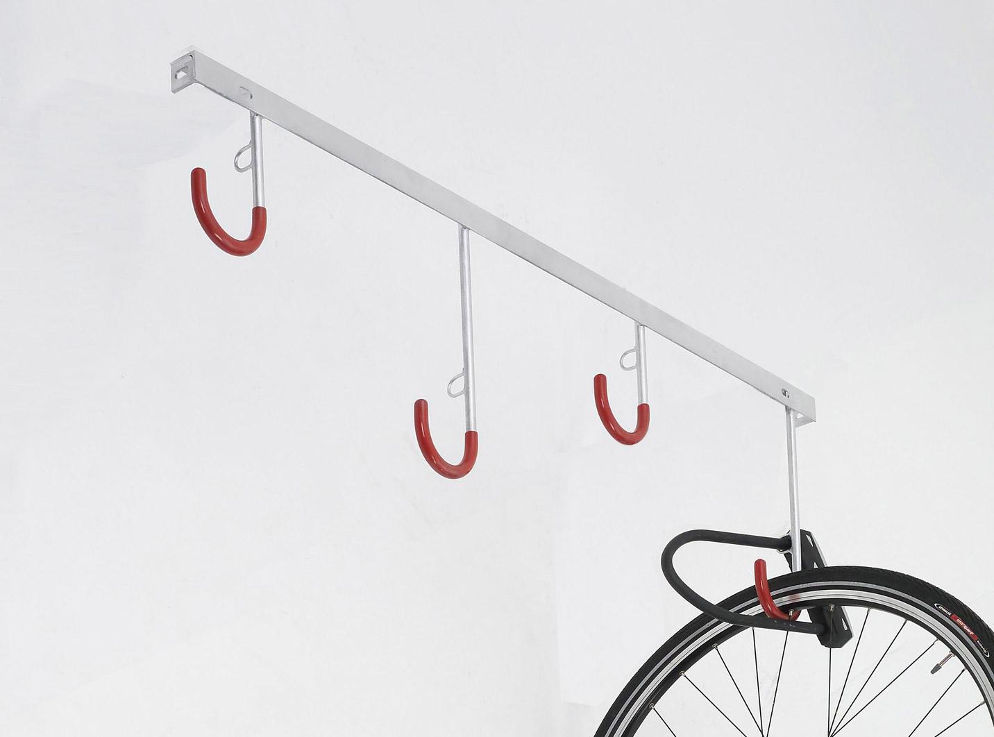 Fahrradständer Reihen Hängeparker für 8 Fahrräder