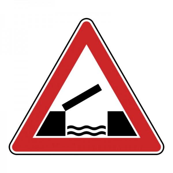 Verkehrszeichen - Bewegliche Brücke Nr. 128