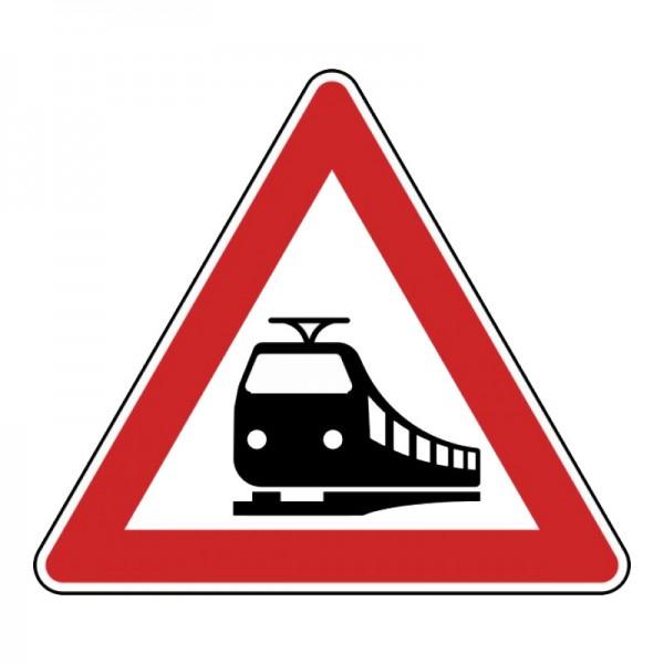 Verkehrszeichen - Unbeschrankter Bahnübergang Nr. 151
