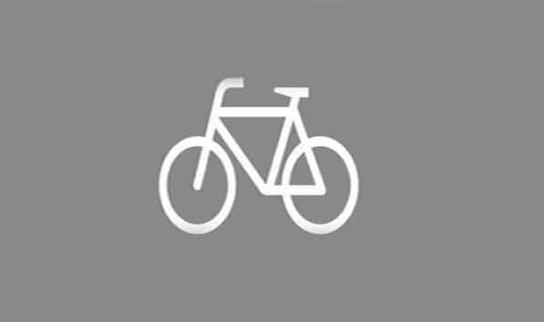 Premark Radfahrer - Thermoplastik
