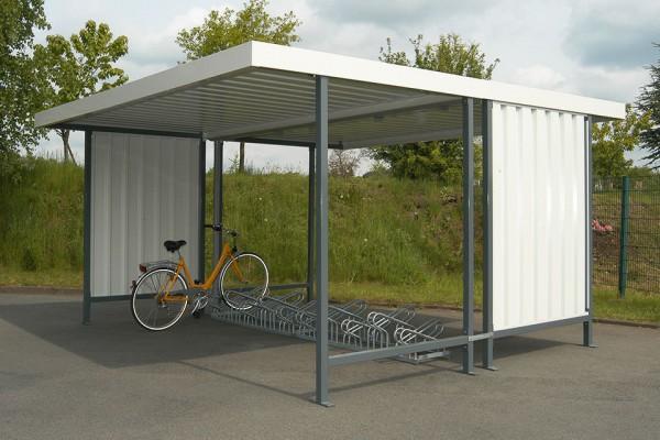 Fahrradüberdachung FS 3 zweiseitig