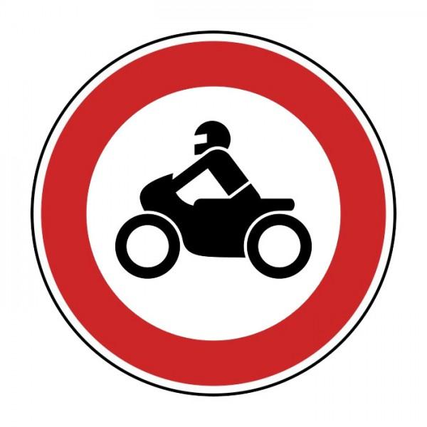 Verkehrszeichen - Verbot für Krafträder Nr. 255