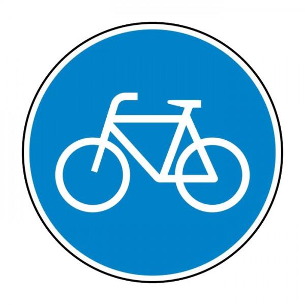 Verkehrszeichen - Sonderweg Radfahrer Nr. 237